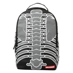 Sprayground backpack-DLX 3M Reflective Bones black