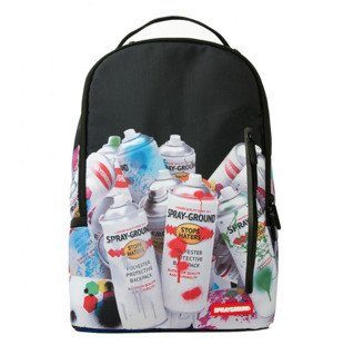 Sprayground backpack Paint Cans DLX black