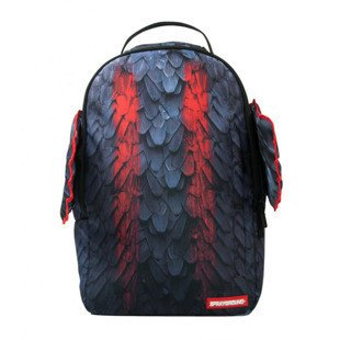 Sprayground backpack Tribal Wings violet / red