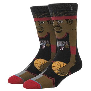 Stance socks Iverson - Cartoon black M545A16IVE