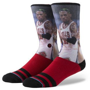 Stance socks Rodman red M3150ROD