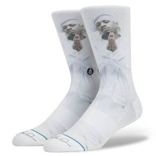 Stance socks The Answer white M545D16TAN