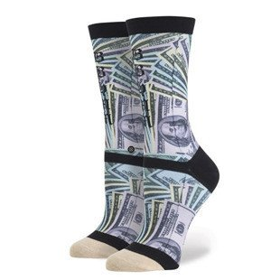 Stance x Rihanna socks One Dolla black W515C15ONE