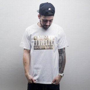 Starter t-shirt Parental Advisory FOIL ICON  white  / gold (T020)