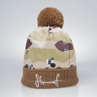 Stoprocent beanie Desert brown