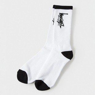 Stussy Stock Socks white