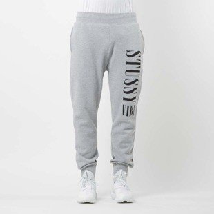 Stussy Sweatpant Stussy Vibe Sweatpant grey heather