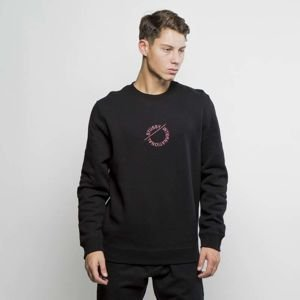 Stussy crewneck International Circle App Crew black FW17