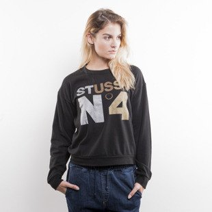 Stussy crewneck Metallic No. 4 Tomboy Crew black