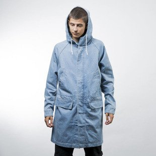 Stussy jacket Denim Parka indygo