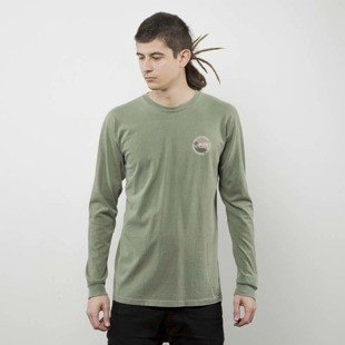 Stussy longleeve Halftone Dot Pig. Dyed LS Tee olive