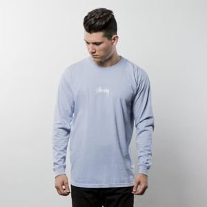 Stussy longsleeve Stock Pig Dyed LS Tee baby blue