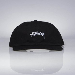 Stussy strapback Smooth Stock Low Cap black