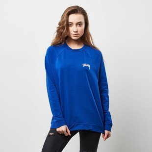 Stussy sweatshirt 8 Ball Crew blue WMNS