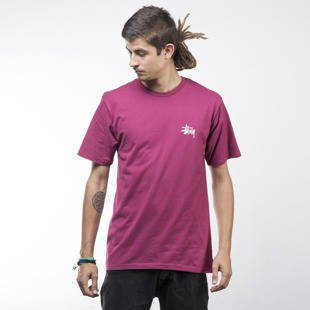 Stussy t-shirt Basic grape