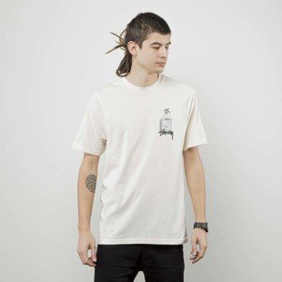 Stussy t-shirt Esc Tee natural