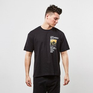 Stussy t-shirt Gold Coast Tee black