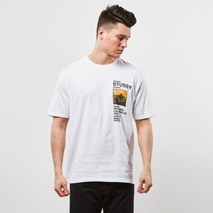Stussy t-shirt Gold Coast Tee white
