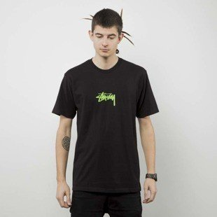 Stussy  t-shirt Stock Tee black