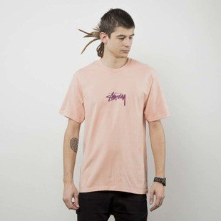 Stussy  t-shirt Stock Tee pale salmon