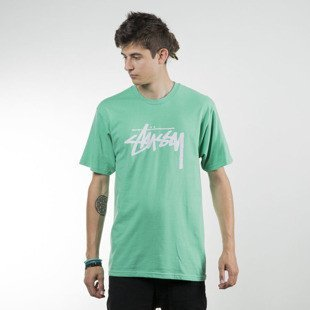 Stussy t-shirt Stock green SU16