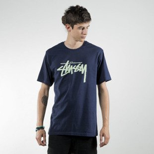 Stussy t-shirt Stock navy SU16