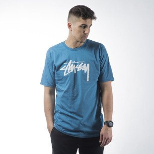 Stussy t-shirt Stock ocean blue