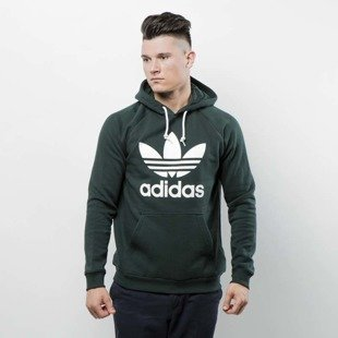 Sweatshirt Adidas Originals Trefoil Hoody green night BR4183