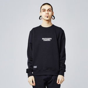 Sweatshirt Backyard Cartel CARTEL Crewneck black SS2017