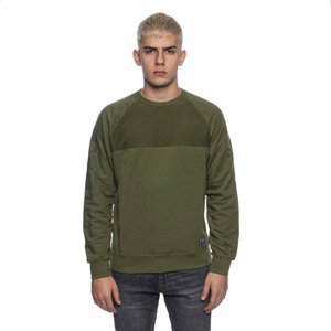Sweatshirt Backyard Cartel Swish Crewneck khaki SS2017
