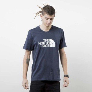 The North Face T-shirt Easy Tee navy T92TX3M6S