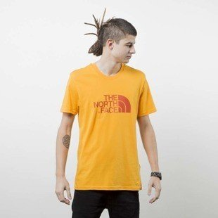 The North Face T-shirt Easy Tee orange T92TX3H6G
