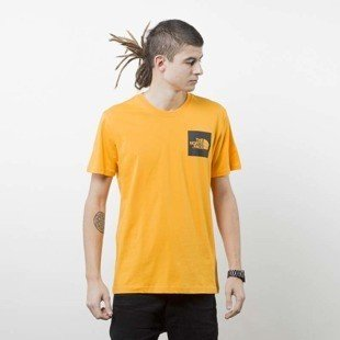 The North Face T-shirt Fine Tee orange T0CEQ5H6G