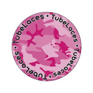 Tubelaces Special 120cm camo pink 10462