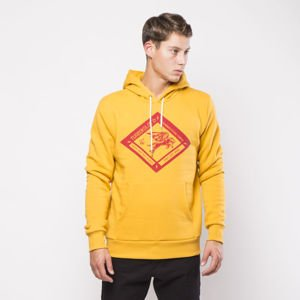 Turbokolor Boxer Diamond Hoodie yellow