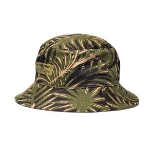 Turbokolor Bucket Hat Deck Crew palm muster camo