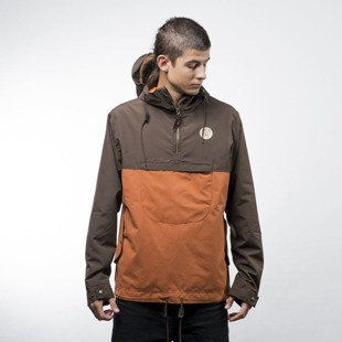 Turbokolor Jacket Freitag dark brown / brown