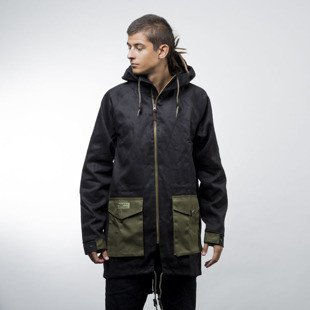 Turbokolor Jacket Parka Light black / green