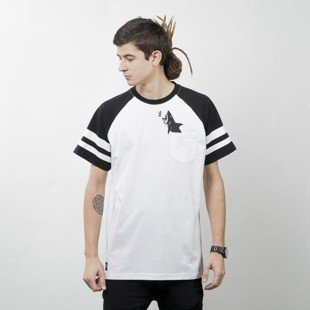 Turbokolor Maneaters Tee Raider white / black