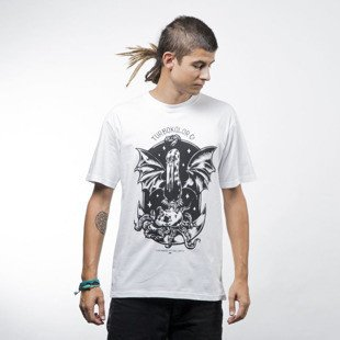Turbokolor Rise Tee white