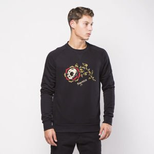 Turbokolor Sweatshirt Rose Crewneck black
