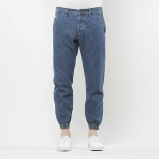 Turbokolor Trainer Chinos light denim washed  SS17