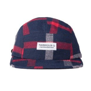 Turbokolor strapback 5Panel flannel