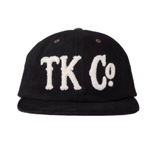 Turbokolor strapback 6Panel TKCO black