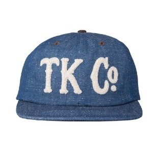 Turbokolor strapback 6Panel TKCO heather navy