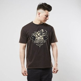 Turbokolor t-shirt TNS Moon Tee washed black
