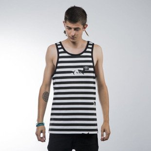 Turbokolor tank top Maneaters Sailor white / black