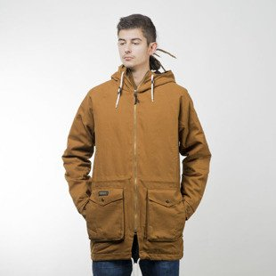 Turbokolor winter jacket Parka Duck canvas quilted