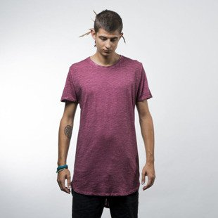 Urban Classics Long Back Shaped Spray Dye Tee burgundy (TB1231)