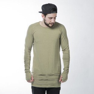 Urban Flavours Mental Extended Longsleeve olive